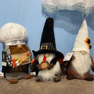 Rae Dunn Thanksgiving Gnomes
